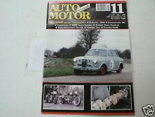 AMK 1996-11 WOLSELEY 1500,LAMBRETTA,AJW 1964,OK SUPREME 1938,BMW R37 1929,PENRIT