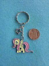 Pony Fluttershy Llavero Esmalte My Little Bolso Encanto Regalo De Cumpleaños Presente #129