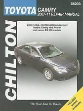 NEW Toyota Camry: 2007 Through 2011 (Chilton's Total Car Care Repair Manuals)