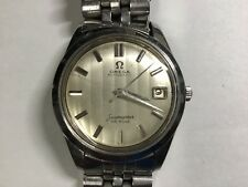 VINTAGE 60's OMEGA STAINLESS SEAMASTER DEVILLE AUTOMATIC MEN'S WRISTWATCH