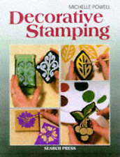 Decorative Stamping for the home Search Press Craft Book Michelle Powell