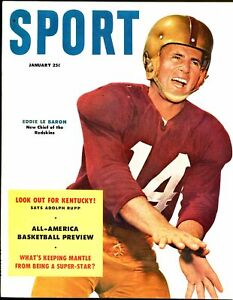 Sport 1/1954-MacFadden-Bevo Francis-Eddie le Baron-Mickey Mantle-Marciamo-VF