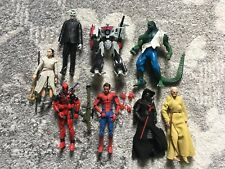 action figure lot Marvel Legends Star Wars Black Series Transformers