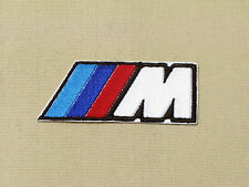 BMW M LOGO BADGE (M-POWER) CAR MOTORCYCLE BIKER RACING PATCH - MADE IN USA