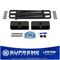 """NEW Heavy Duty 3/"""" Lift And Lowering Block Kit With U-Bolts Hardware Instructions"""
