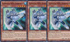 Elemental HERO Bubbleman - SDHS-EN012 Common 1st X 3 MINT YU-GI-OH! English