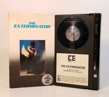 The Exterminator -1980 (Betamax 1983, Embassy) VGC Tested! Christopher George