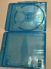 20 Blu-ray Replacement Cases with LOGO 12mm 1-Disc Single W Logo RECYCLED