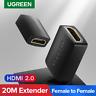 Ugreen High Speed Type A HDMI Female to Female Coupler Extender Adapter 4K*2K