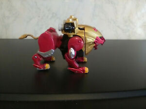 Power Rangers Wild Force ~ Red Lion Zord Action Figure