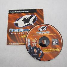 Sega Dreamcast Interact GameShark CDX Game Enhancer 2000 Disc Only
