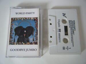 WORLD PARTY GOODBYE JUMBO CASSETTE TAPE CHRYSALIS UK 1990