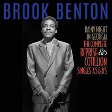 BROOK BENTON - RAINY NIGHT IN GEORGIA  2 CD NEUF