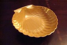Made in Japan Lusterware shell dish [*7i]