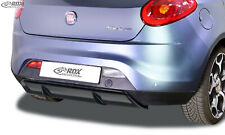 RDX Heckdiffusor FIAT Bravo 198 Diffusor ABS schwarz glänzend Ansatz Diffuser