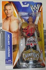 Randy Orton Signed WWE Action Figure BAS Beckett COA Pro Wrestling Champion Auto