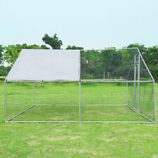 13 x 13 Large Animal Kennel with Roof Cover