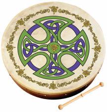 "Ireland Irish Music 8"" Brosna Cross Waltons Bodhran Drum Beater DVD 2 Items"