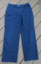Lee Relaxed Straight Leg at the Waist Blue Jeans Size 12 Medium 34x28