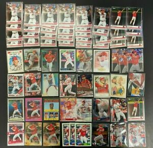 (67x) MIKE TROUT Premium Baseball Card Lot with Inserts