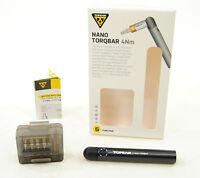 5Nm w//5 tool bits 4Nm torq bits Topeak Bike Nano TorqBar DX TT2570 6Nm
