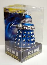 "Doctor Who Blue Dalek 5"" Glass Christmas Ornament LAST One!"
