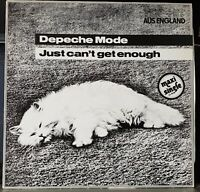 """Depeche Mode - Just Can't Get Enough - 1988 Mute German pressing 12"""" single"""