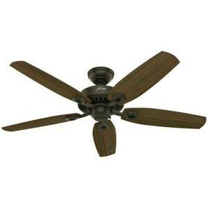 Hunter Builder Elite 52 in. Indoor New Bronze Ceiling Fan 53242