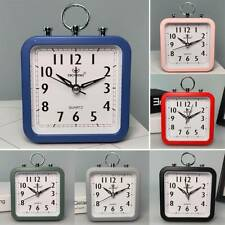 Alarm Clock Small Bedside Desk Table Time Dispaly Travel Bedroom Desk Home NEW
