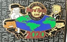 2020 HARD ROCK CAFE WASHINGTON DC SAVE THE PLANET W/CHILDREN OF THE WORLD LE PIN