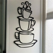 1x Kitchen Coffee House Cup Decal Removable Wall Sticker Art Vinyl DIY Mural NP