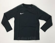 Nike Academy 18 Long Sleeve Crew Soccer Futbol Pullover Women's M Black 893775