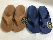 Two Pairs Pali Hawaii Thong Sandals, Chic Island Beach  Water Proof flip flops
