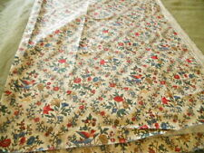 Waverly Liberty  Legacy 5 Yrd Floral and Bird Fabric Designer 54Wide