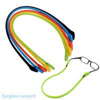 Silicona Gafas collar Eye Wear accesorios Gafas en cadena Cordón de gafas
