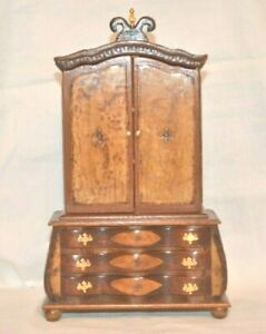 ARTISAN BRIAN MASTERS DUTCH CABINET IDEAL FOR BABY HOUSE 12TH SCALE DOLLSHOUSE