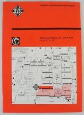 Halbleiter Bauelemente Information Hannover Messe 1975 April Broschüre  B8220