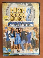 High School Musical 2 (DVD, 2008, 2-Disc Set, Deluxe Dance Edition) New Sealed
