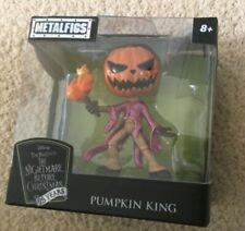 Tim Burton's Nightmare Before Christmas Metal Diecast Figure Pumpkin King new