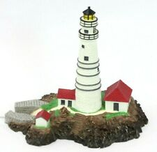"Danbury Mint ""Boston Light"" Little Brewster Island Lighthouse Collectible, w/Box"