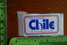 Alter Aufkleber Visite Visit Besucht CHILE