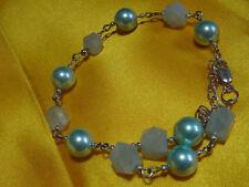 Silver Plated Natural Aquamarine Fine Jewellery
