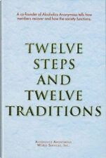 AA Twelve Steps/Twelve Traditions AA Services 2017 Ed. LARGE PRINT PAPERBACK NEW