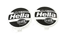 2x HELLA Universal Rallye 1000 Spotlight Caps Protective Covers 8XS130331-001