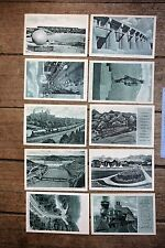 UNUSED Great Northern Railway-All Ten Postcards in Series 1 in original envelope