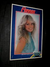 Original 1977 FARRAH FAWCETT LOGAN'S RUN Studio Licensed Personality Poster