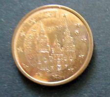 5 centavos euro-moneda de España año de emisión 2009 de circulación artículo de colección