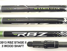 Matrix Ozik RBZ Stage 2, SLDR, R1 Xcon 5 REGULAR  Shaft  TaylorMade 3 wood