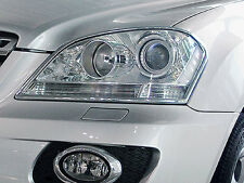 Mercedes ML (W164) 2005-2007 Chrome Head Light Surrounds (Pair)