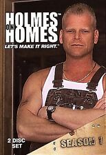 HOLMES ON HOMES Season 1 DVD Home Improvement Construction Repair Renovation